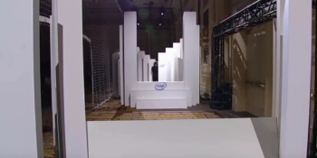 Terabee Sensors Modules CES 2015: TeraRanger One distance sensor at Intel keynote speech