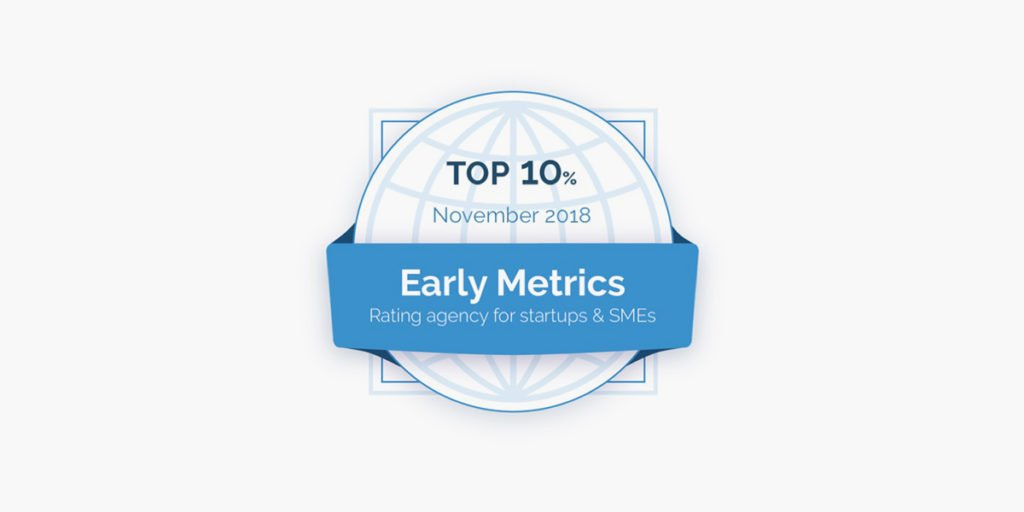Terabee Sensors Modules Terabee was awarded a top 10% ranking by Early Metrics startup ratings agency