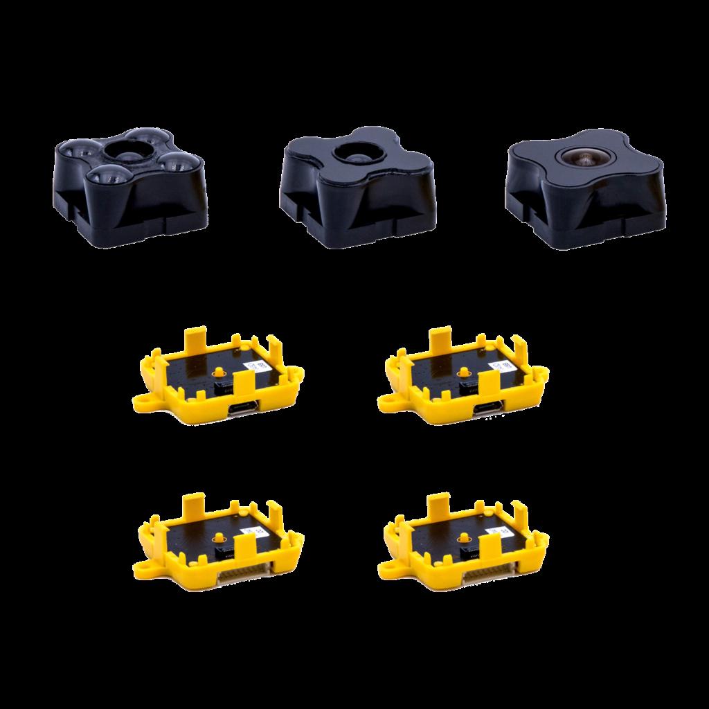 structured light sensor camera