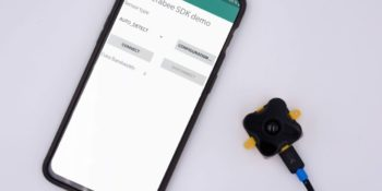 Terabee Sensors Modules Terabee provides two new tools for Android devices
