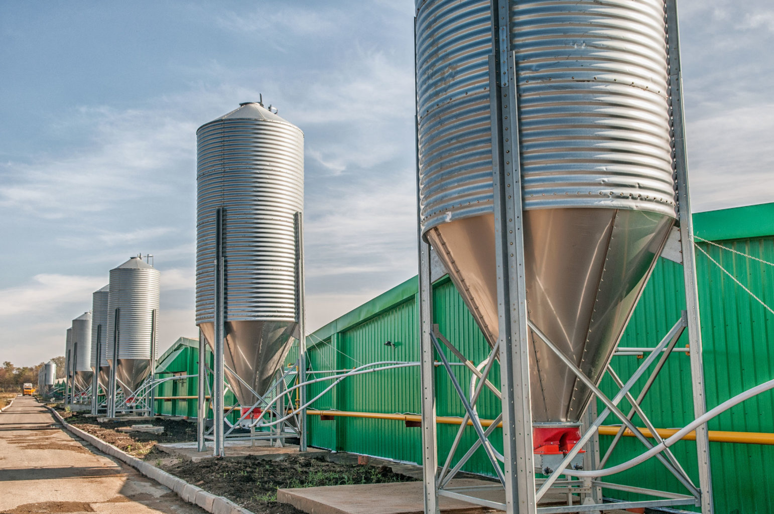 silo level measurement