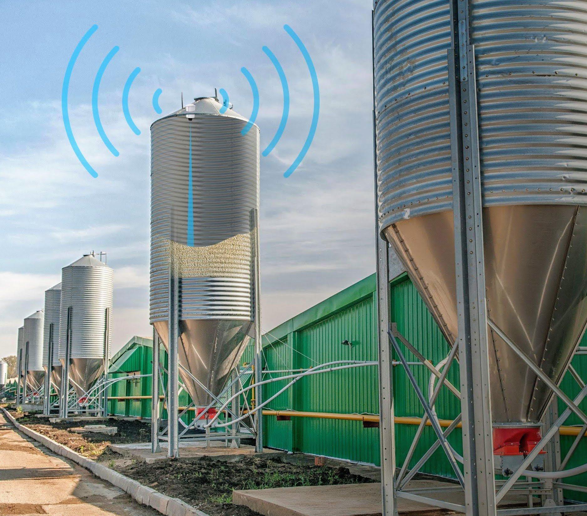 lora silo level monitoring