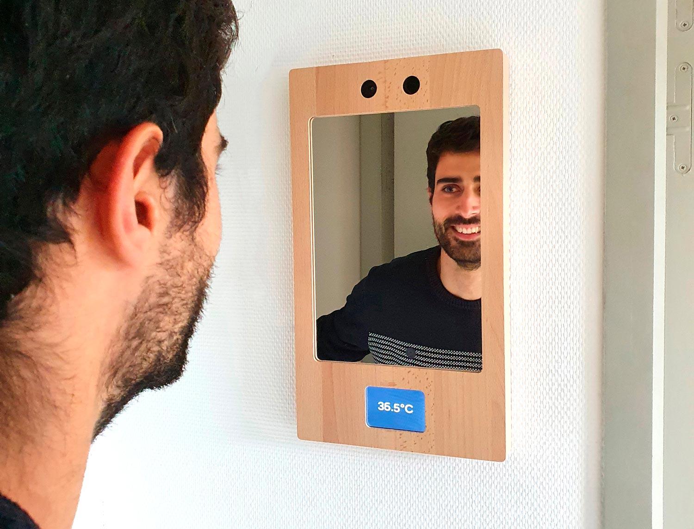 Fever Screening Mirror