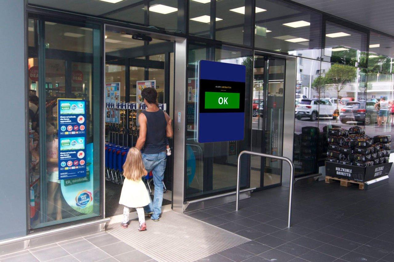 Supermarket Entrance 2