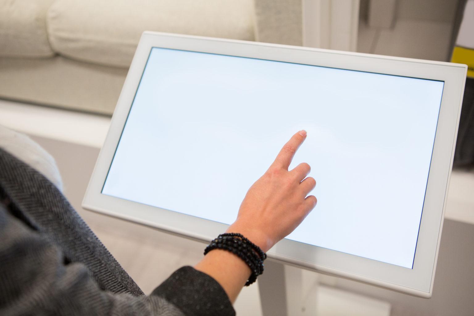 Terabee Sensors Modules How Gesture Control Mitigates Hygiene Hazards for Smart Buildings, Kiosks & Information Panels