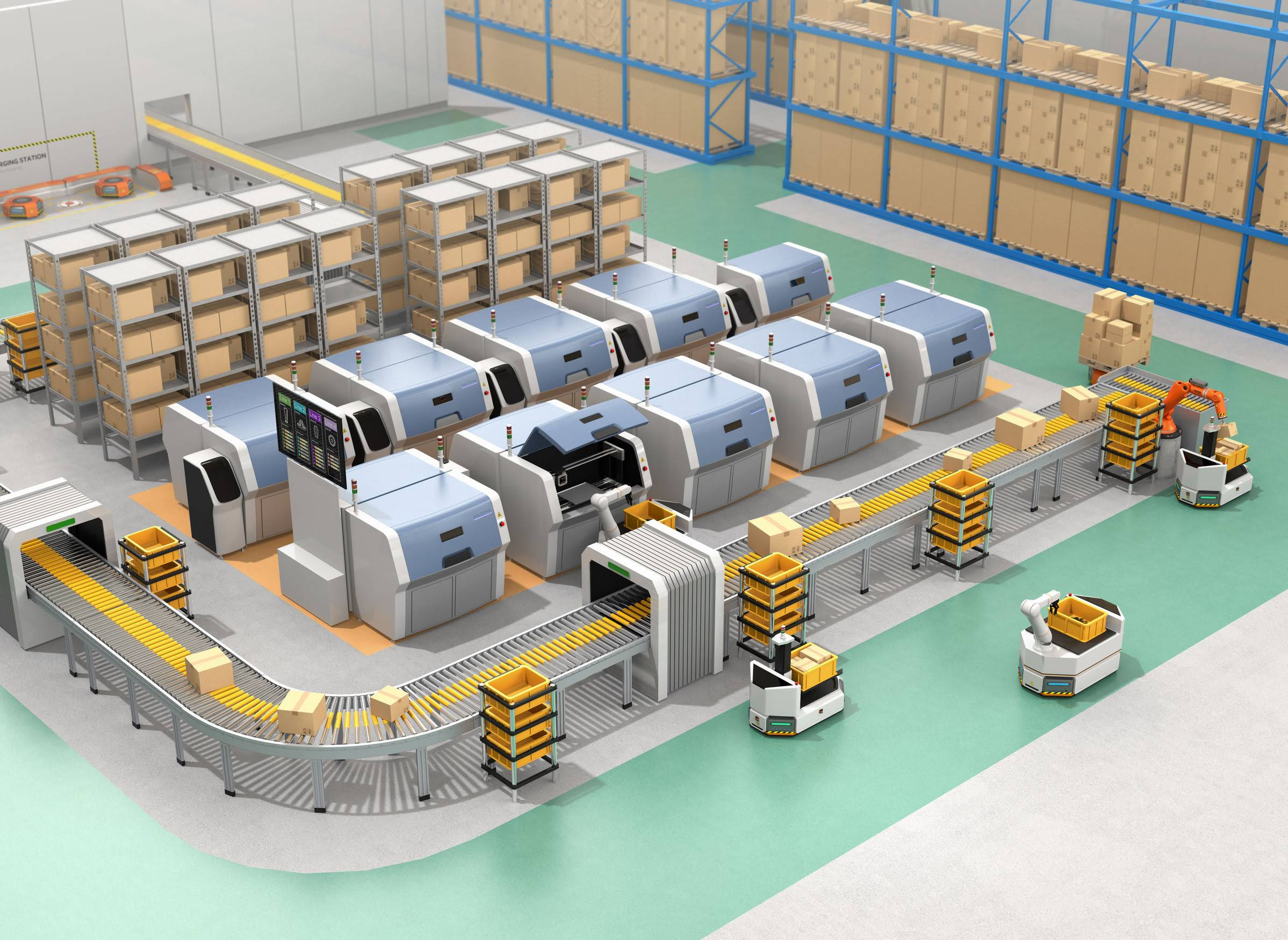 Terabee Blog RTLS in manufacturing and Industrial IoT