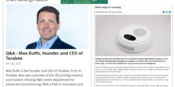 Terabee Sensors Modules Smart Buildings focus: Terabee in the media