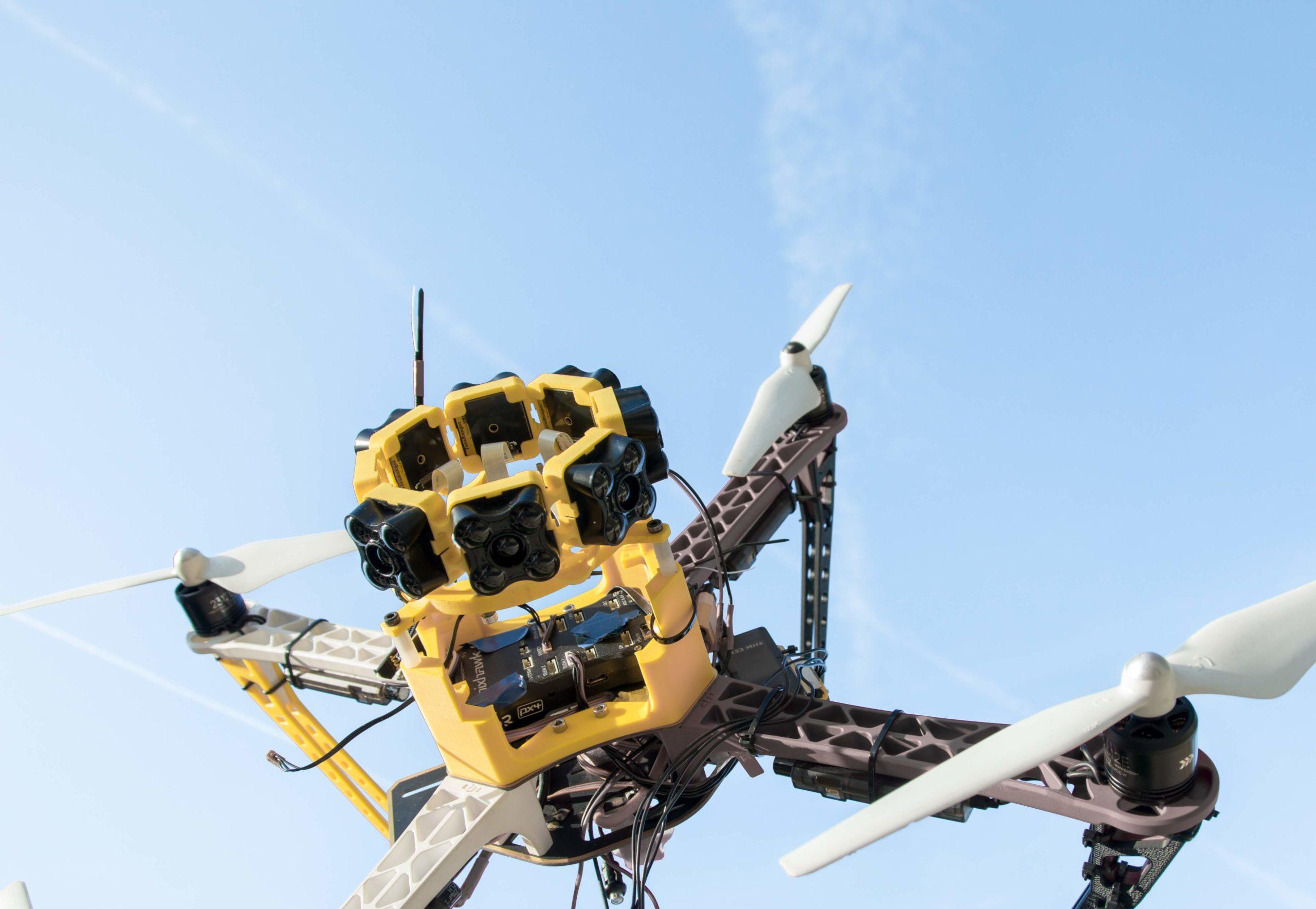 TeraRanger on a drone