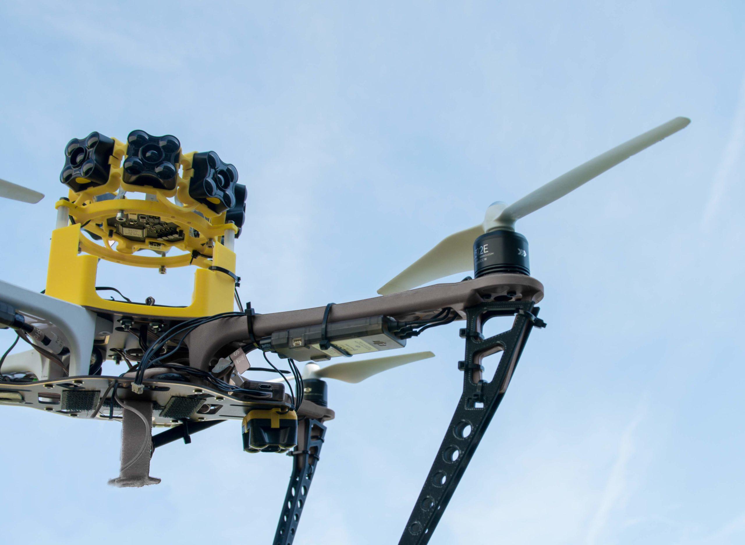 Sensor arrays for drone and robot collision avoidance